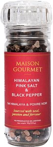 MAISON GOURMET 即磨喜馬拉雅山粉紅岩鹽&黑胡椒90g 90克