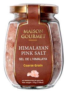 MAISON GOURMET 喜馬拉雅山粗粒粉紅岩鹽215g 215克