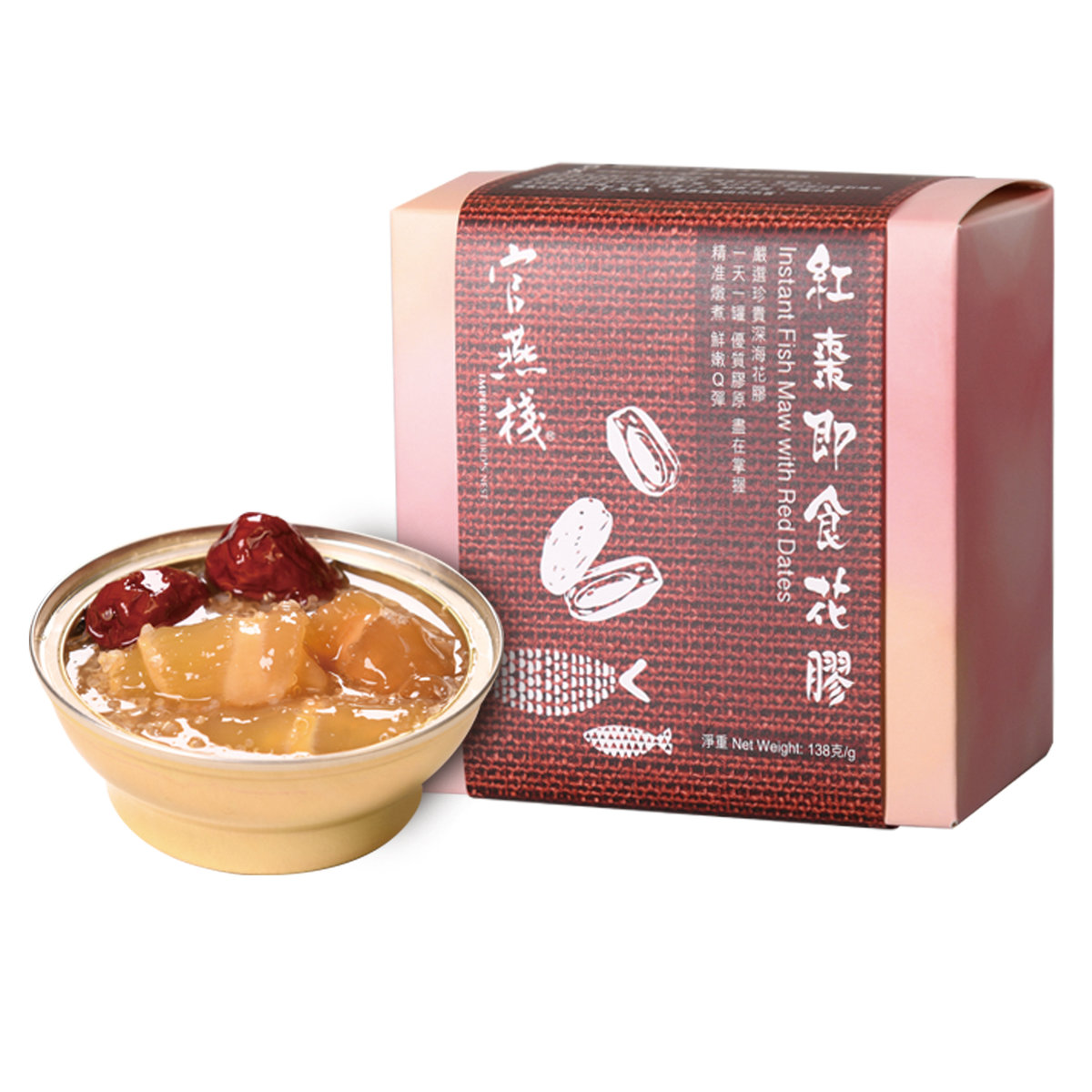 IBN Instant Fish Maw with Red Dates