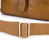 ENZODESIGN Vintage Buffalo Leather A5 Size Mini Shoulder Bag ( I-Pad Size)