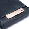 ENZODESIGN Vintage Buffalo Leather A5 Size Mini Shoulder Bag ( I-Pad Size