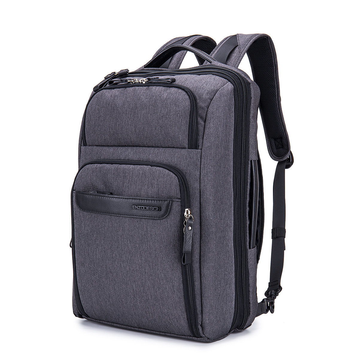 """ENZODESIGN 17"""" Laptop Multi pockets All-in-One Backpack"""