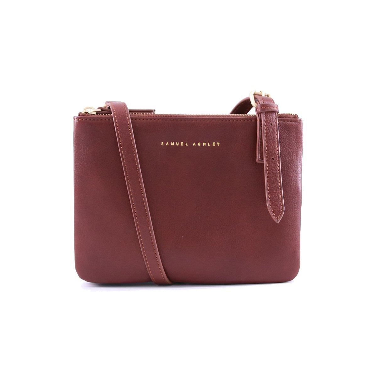 Drew Shoulder Bag - Brandy