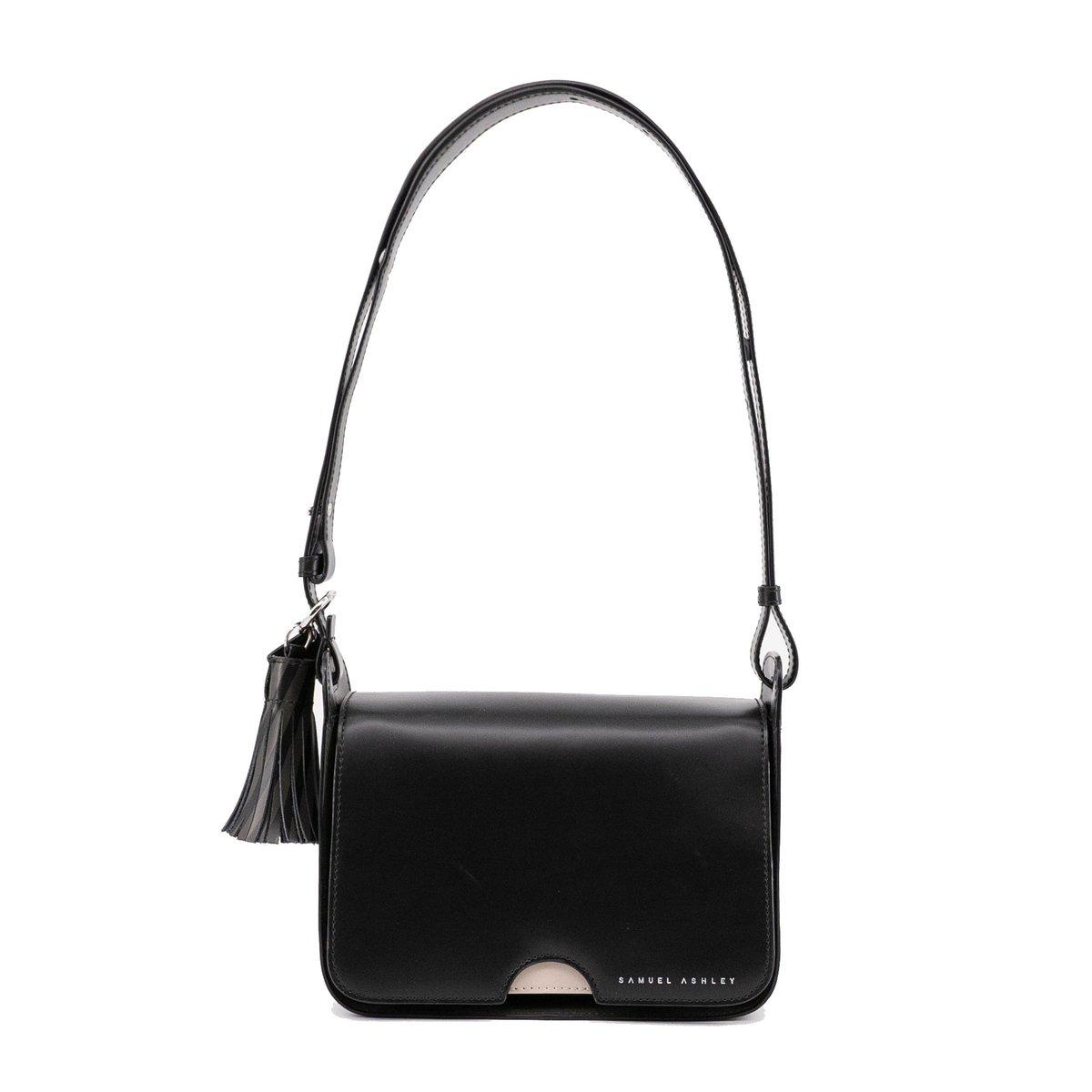 Isla Flap Bag - Black