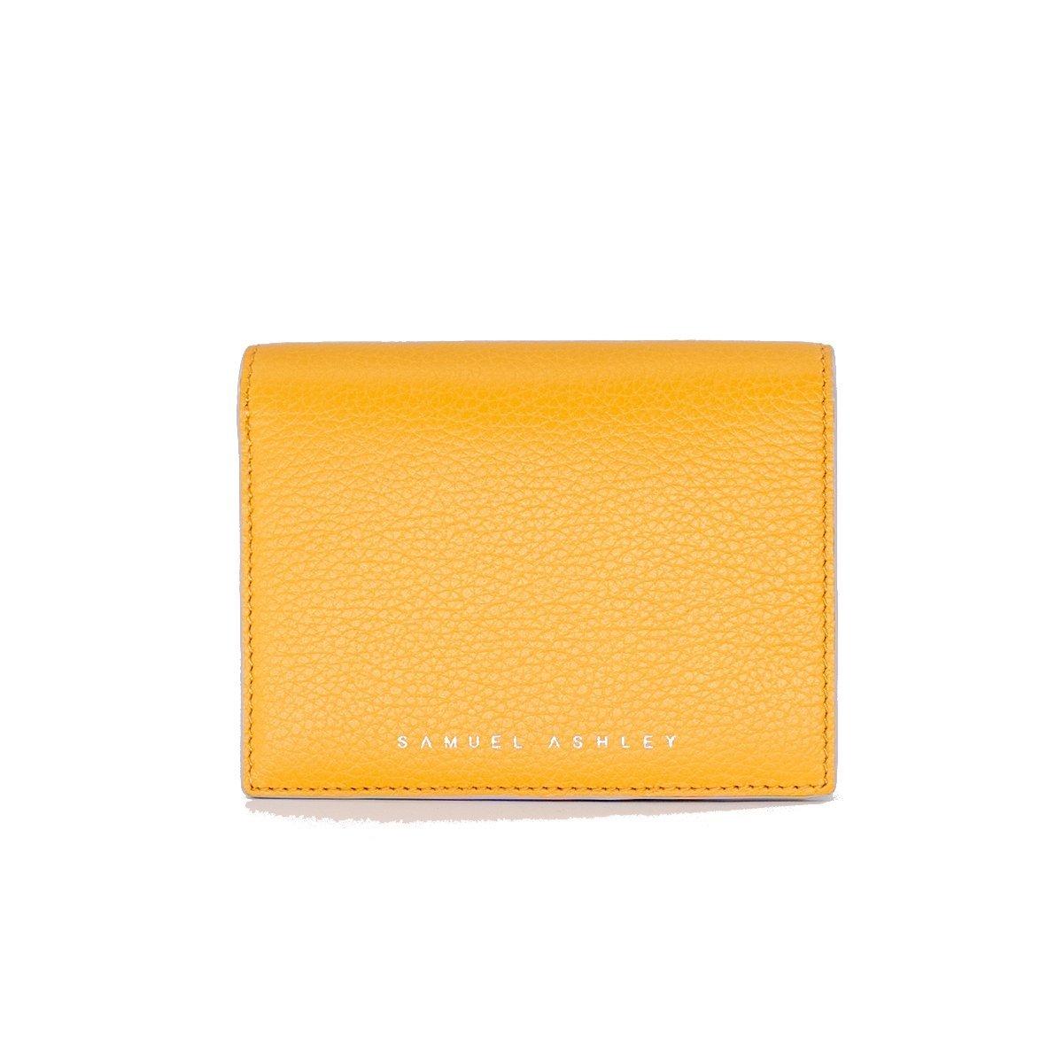 Ellery Bifold Wallet - Yellow