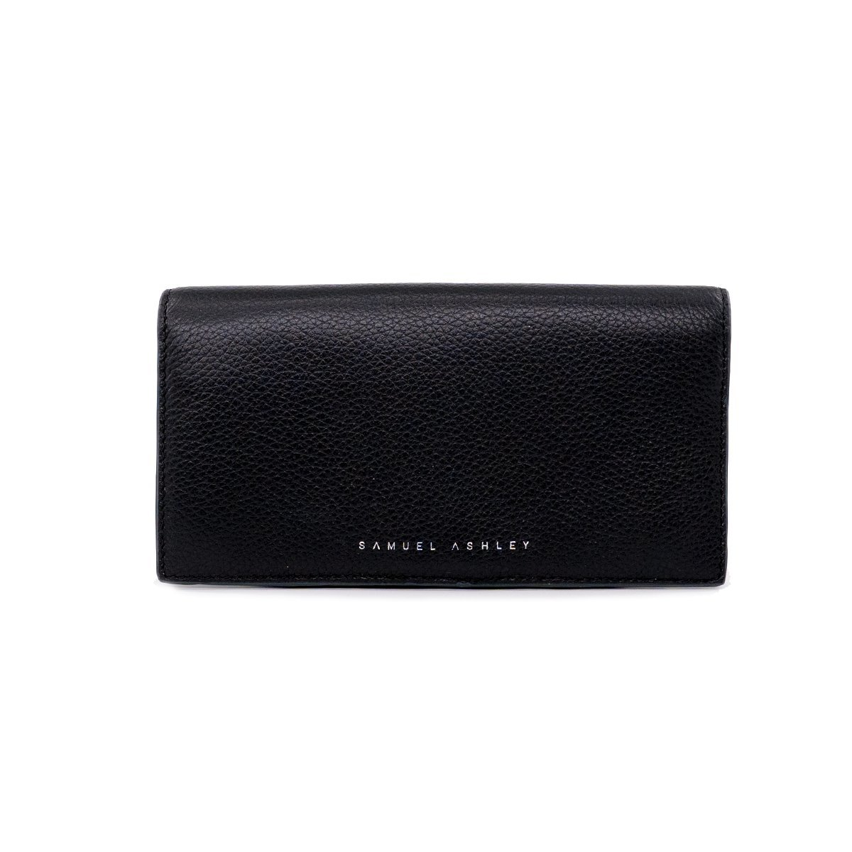 Addison Bifold Long Wallet - Black