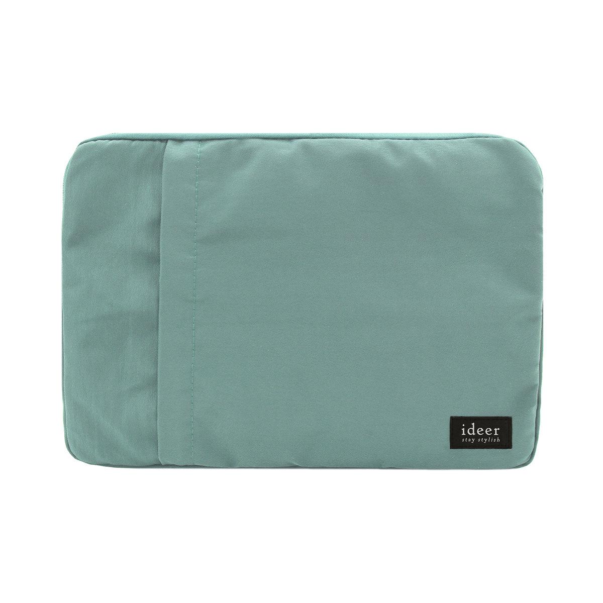 Ronnie 薄荷綠色防水尼龍超輕手提電腦袋