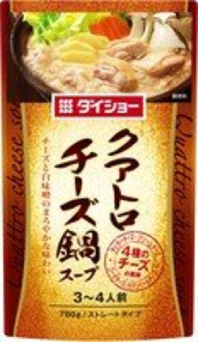 日本-香濃芝士鍋湯底(3-4人前)750g  チーズ鍋スープ