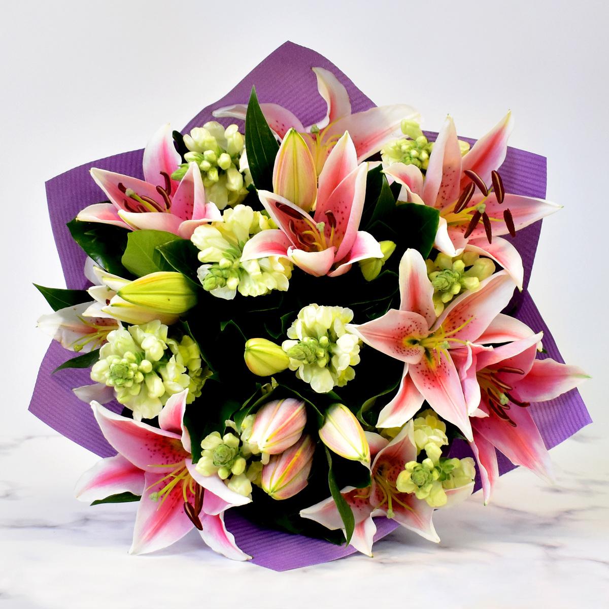 Mixed Lilies Bouquet