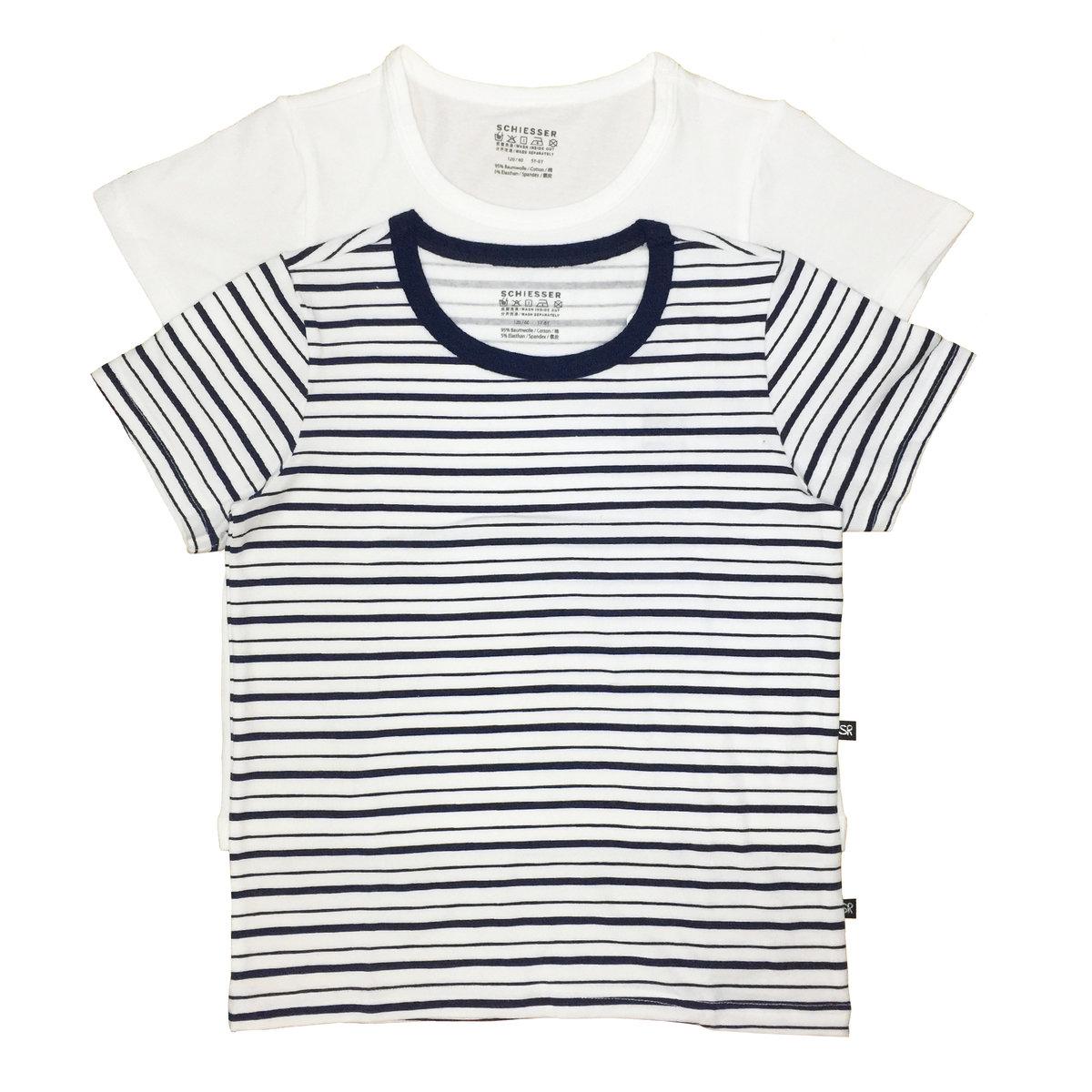 95/5 Boy's Cotton Round-Neck T-Shirt