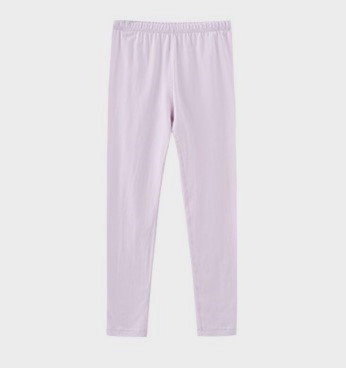 Girl's Modal Round-Neck Long Pants