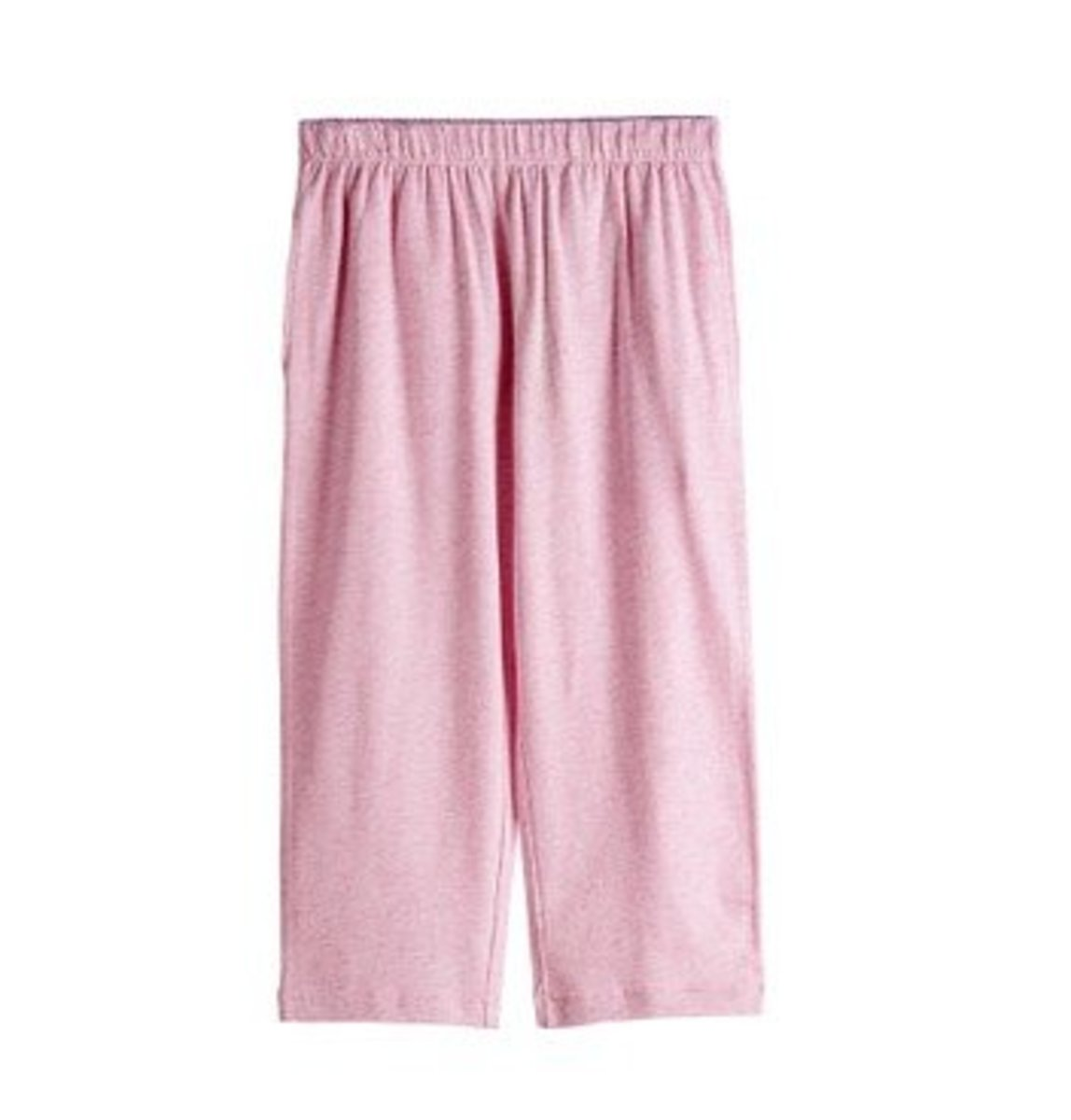 Girl's Cropped Modal Pants with Pockets