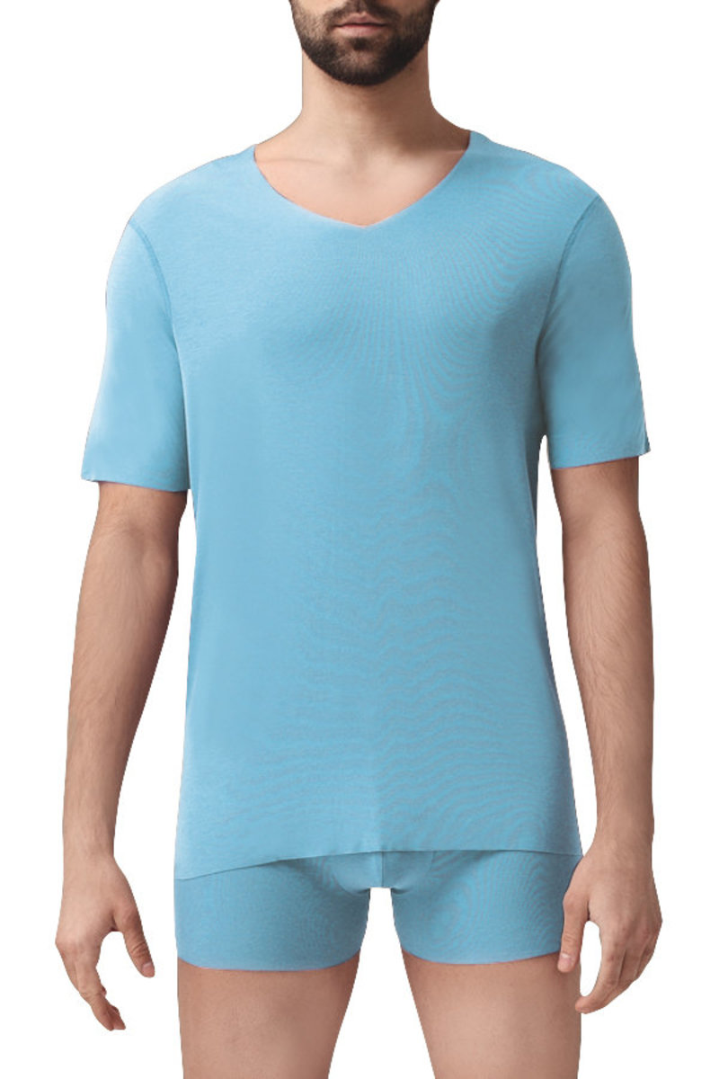 PLATINUM Men's Micro Modal Free-Cut Seamless T-Shirt