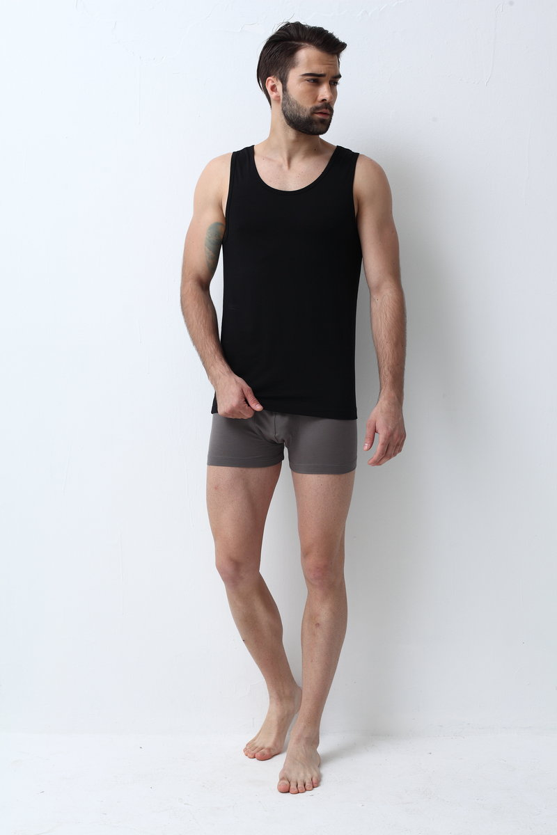 European Imported Men's Modal Round Neck Vest