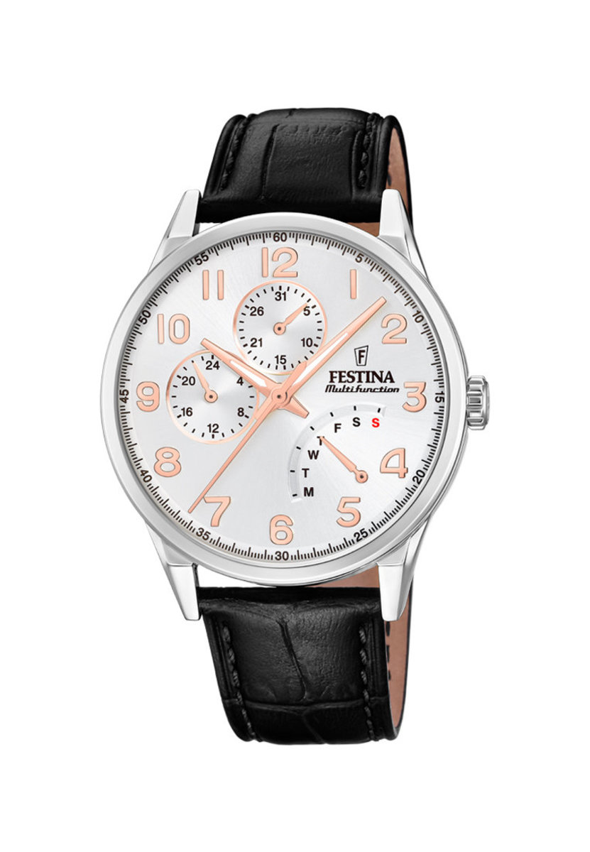 Festina  Multi-function Leather strap Watch F20278/A