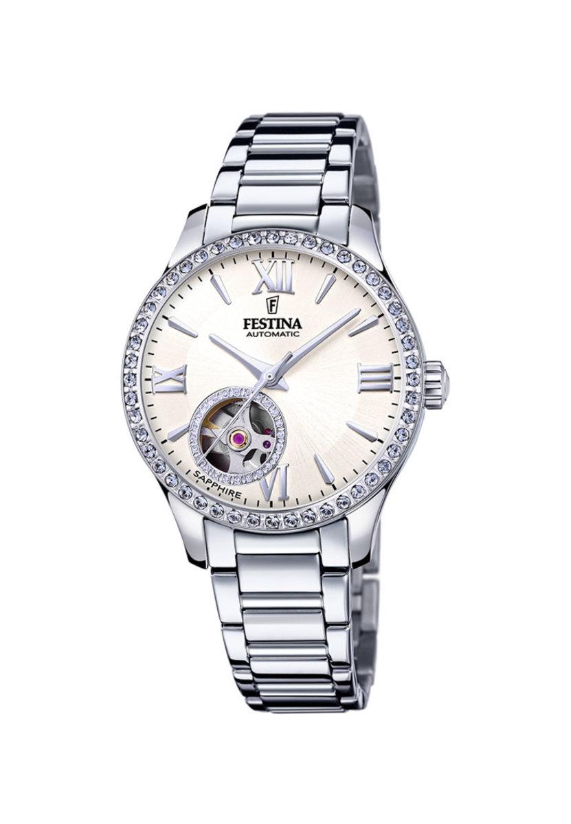 Festina Lady Automatic Watch in whitel dial F20485/1