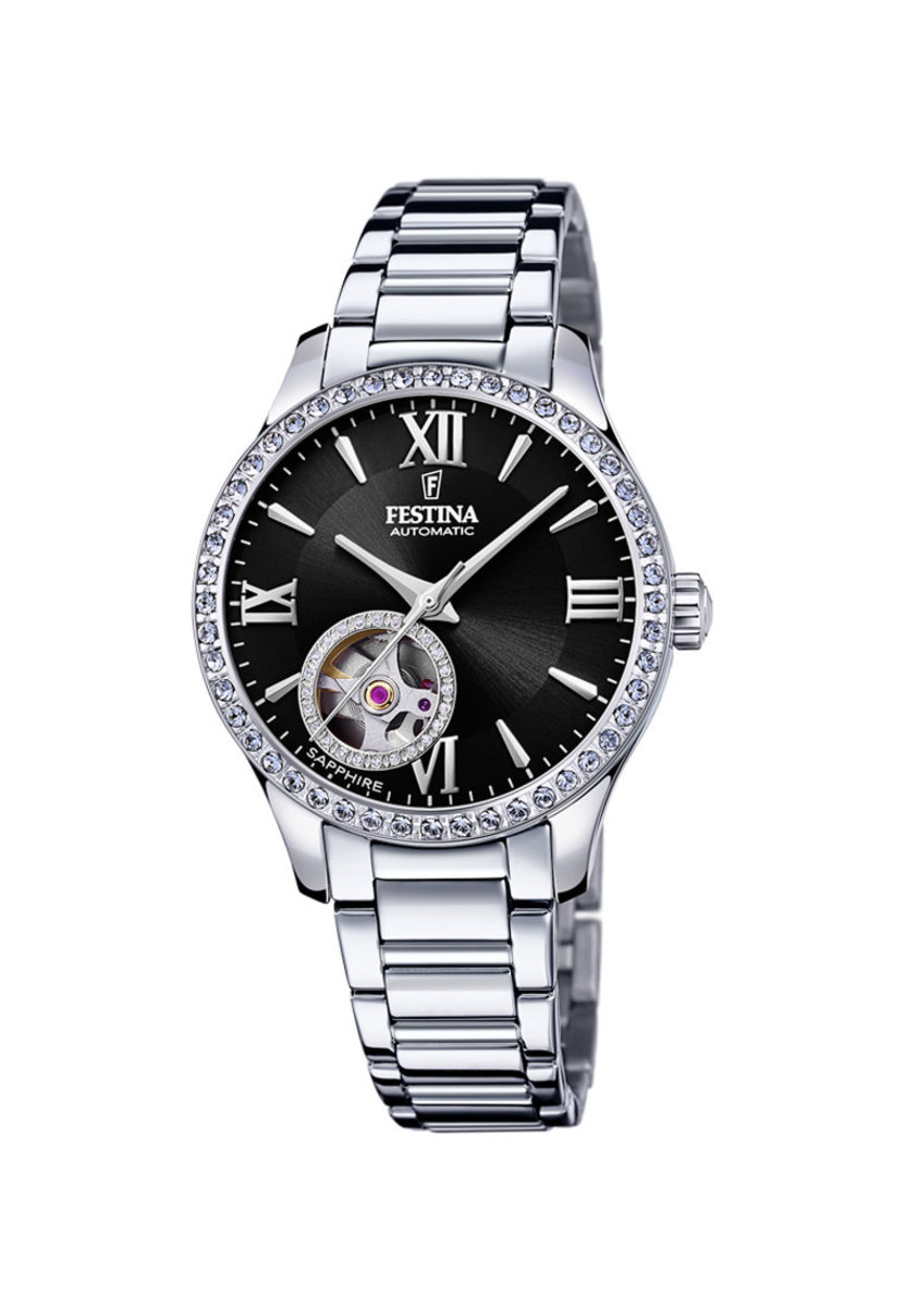 Festina Lady Automatic Watch in black dial F20485/2