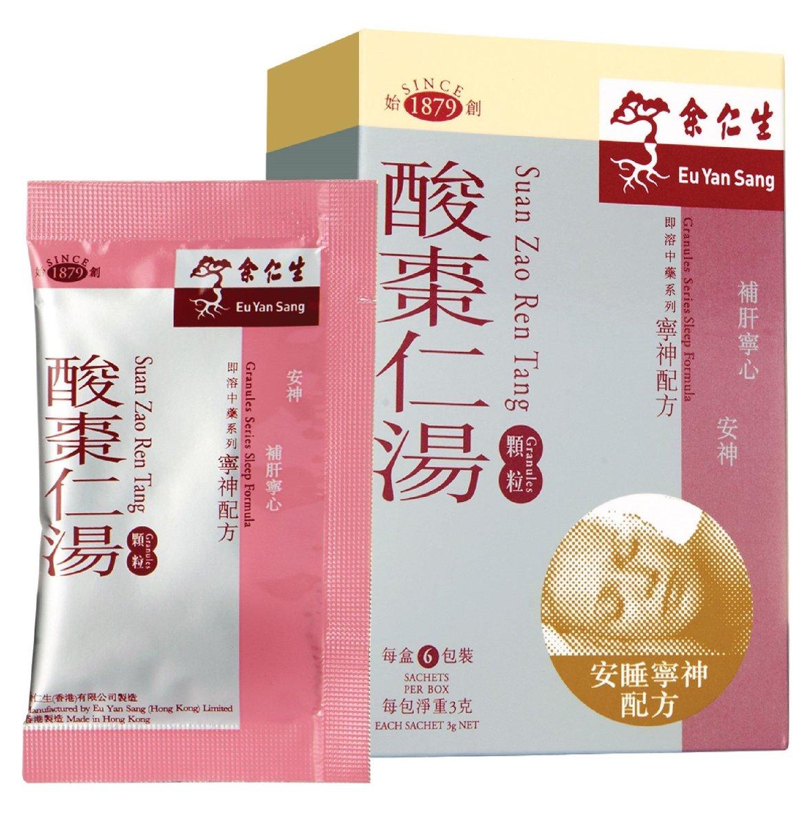 酸棗仁湯顆粒(每盒6包)