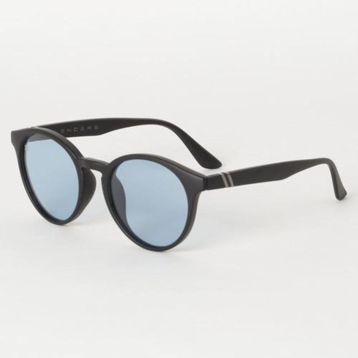 Coast Club // 偏光鏡片藍色磨砂黑框太陽眼鏡