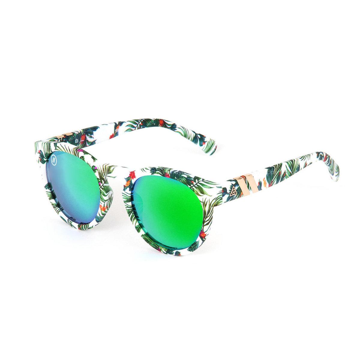 East Village // 偏光鏡片簡約橢圓綠色太陽眼鏡