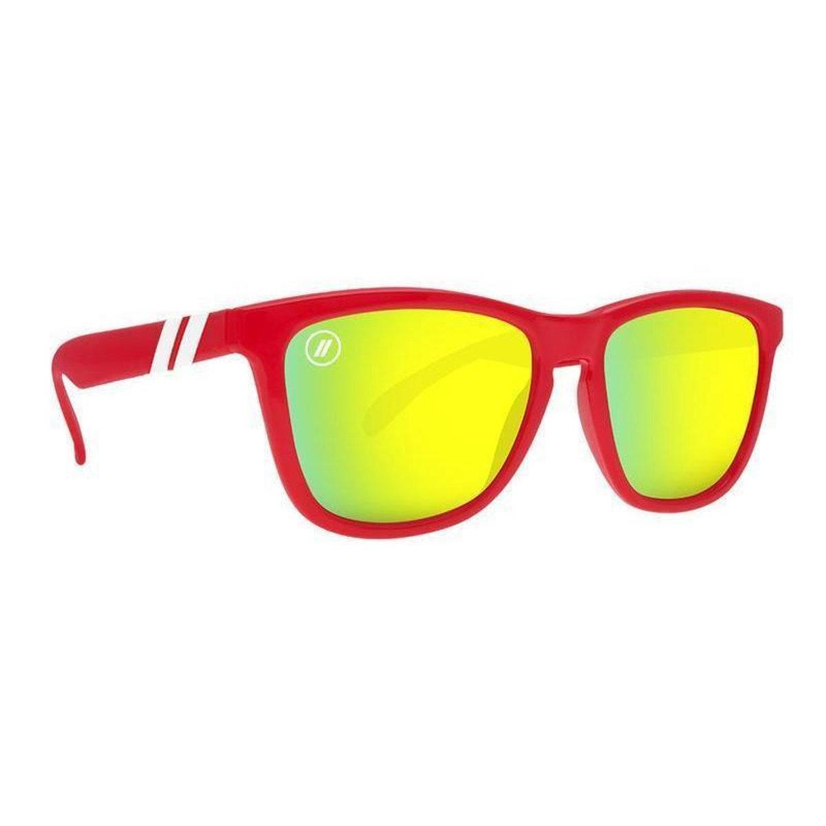 K Series // 紅色梯形鏡框太陽眼鏡