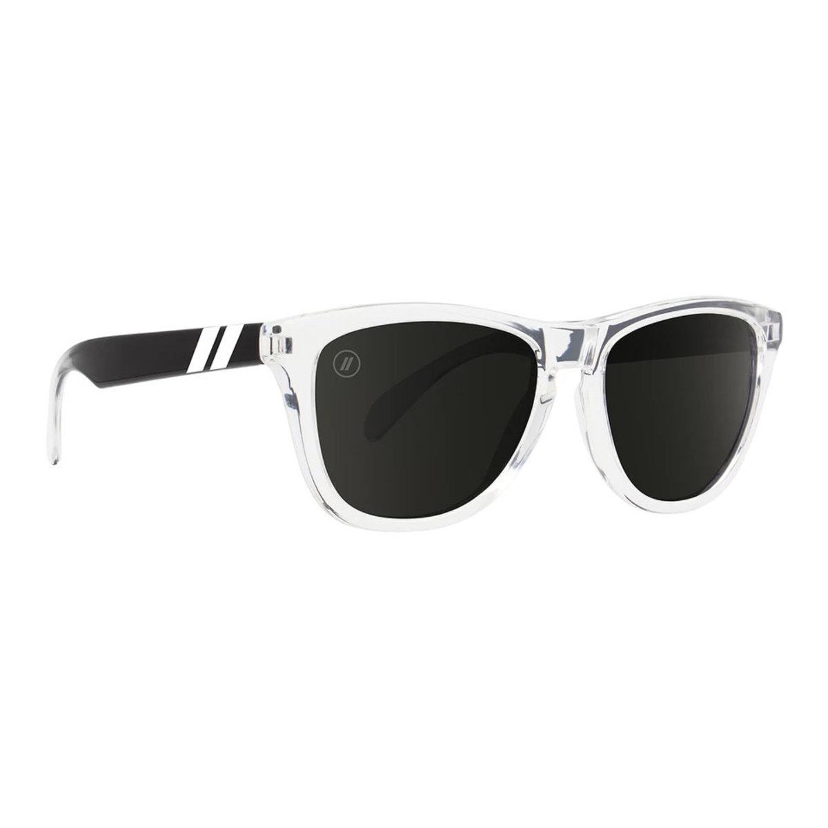 L Series // 偏光鏡片黑白漸變梯形鏡框太陽眼鏡