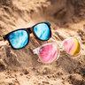 M Class // 偏光鏡片藍色玳瑁紋太陽眼鏡