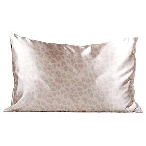 Kitsch 美國Kitsch舒適睡眠枕頭袋/枕頭套・淺啡豹紋