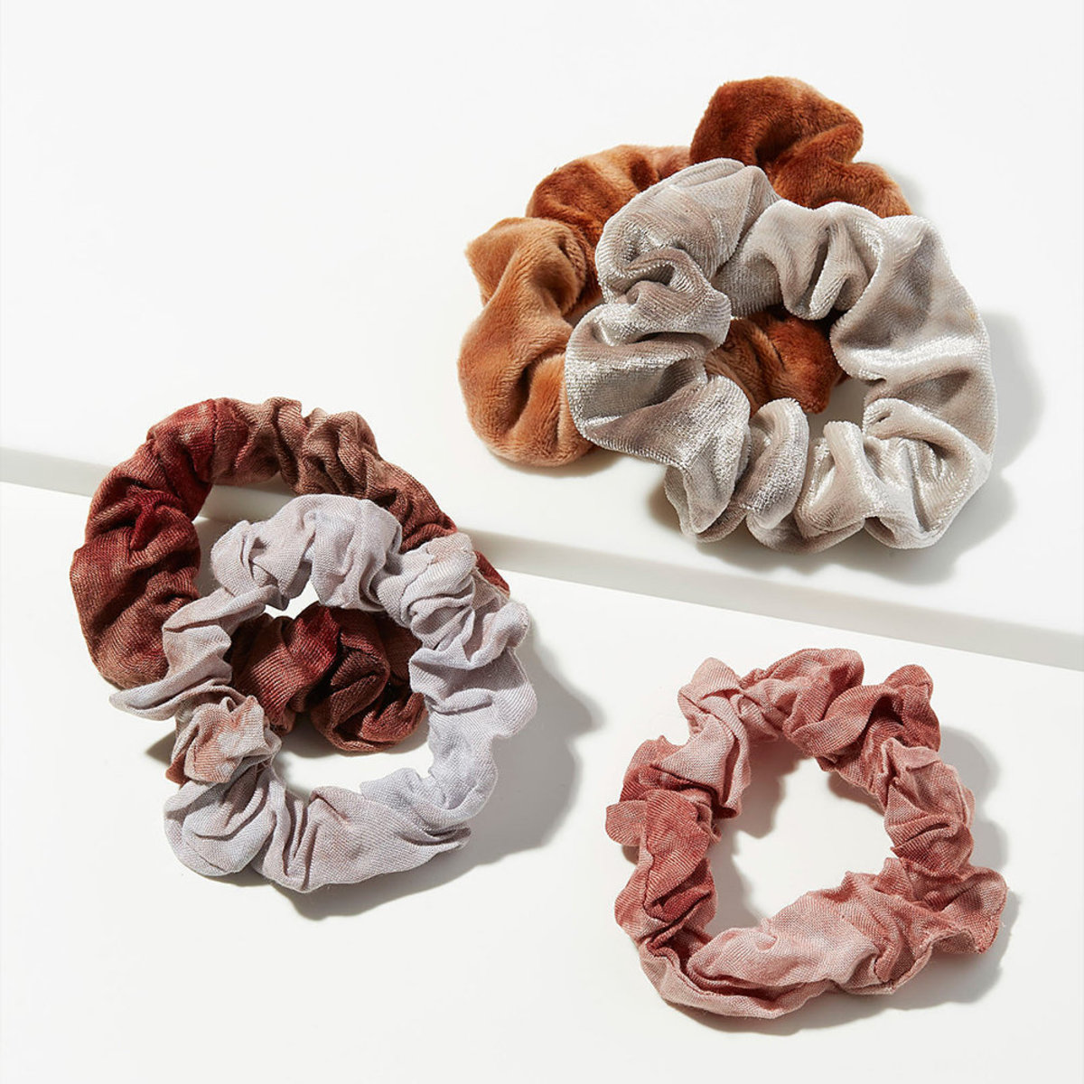 Tie Dye Scrunchies・Rush 5pc