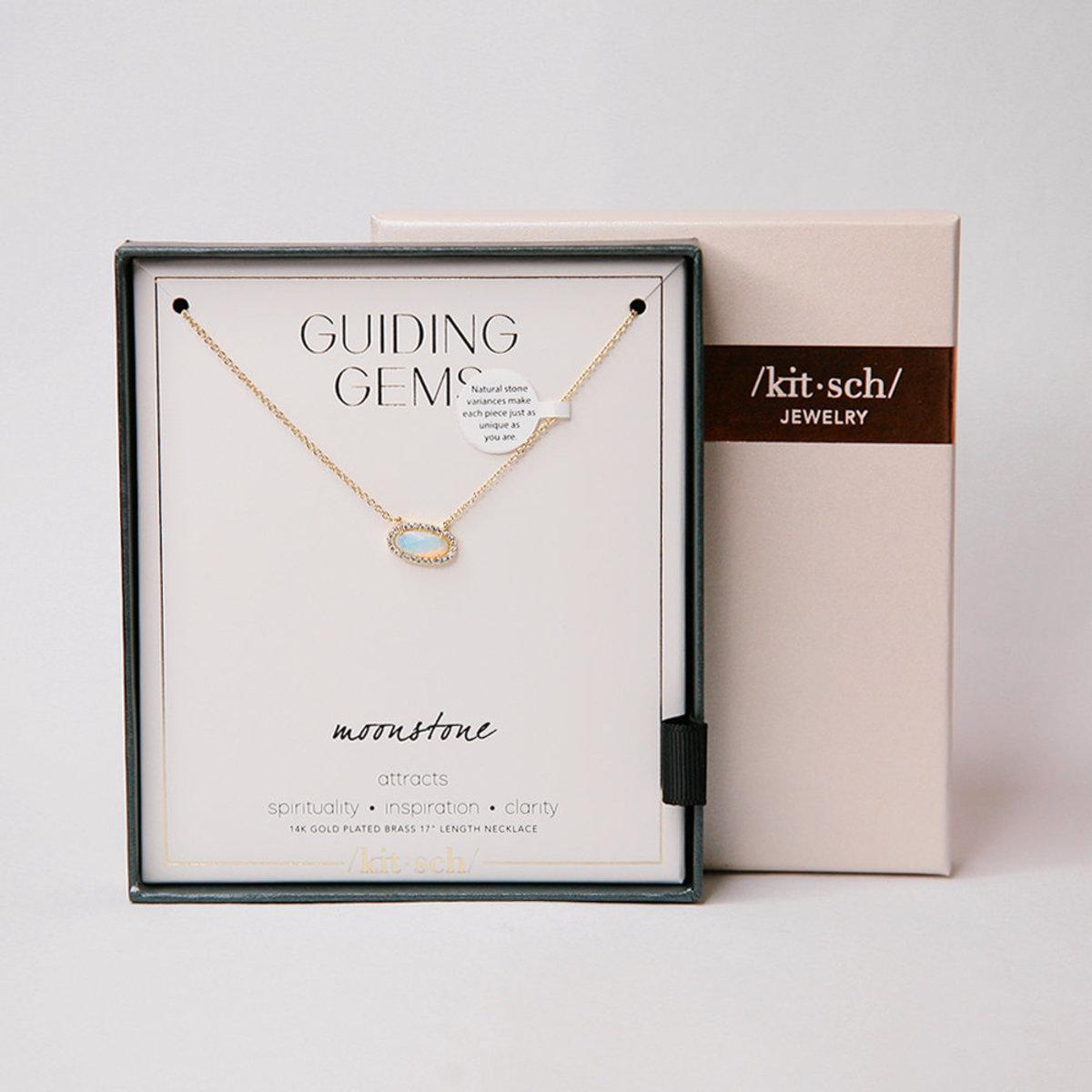 14K金月亮石項鍊 | 禮物推薦  | 生日禮物