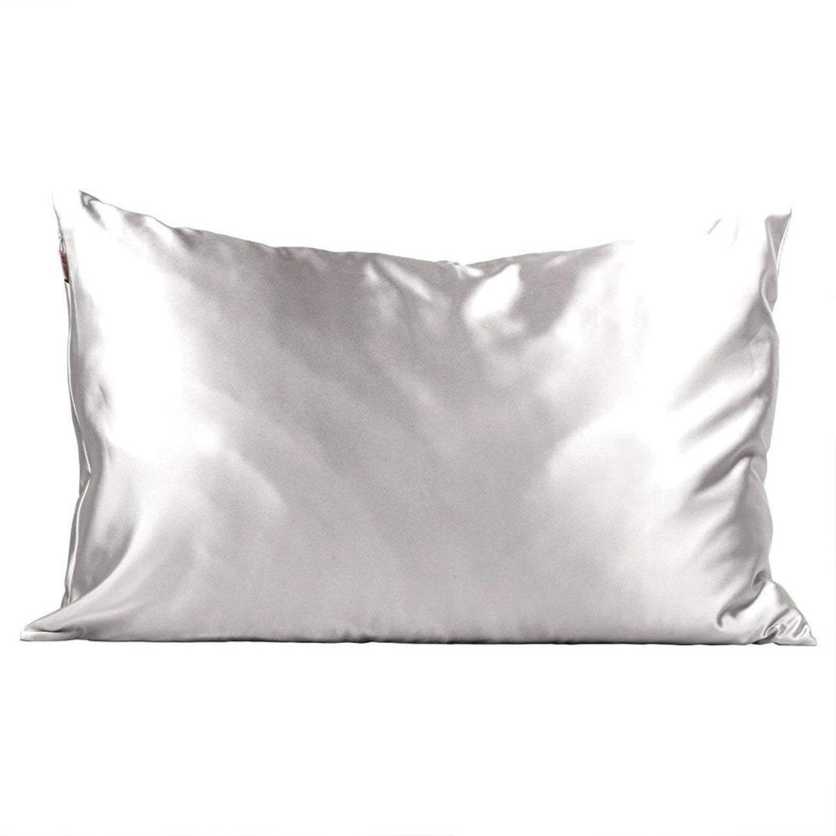 Satin Pillowcase・Silver