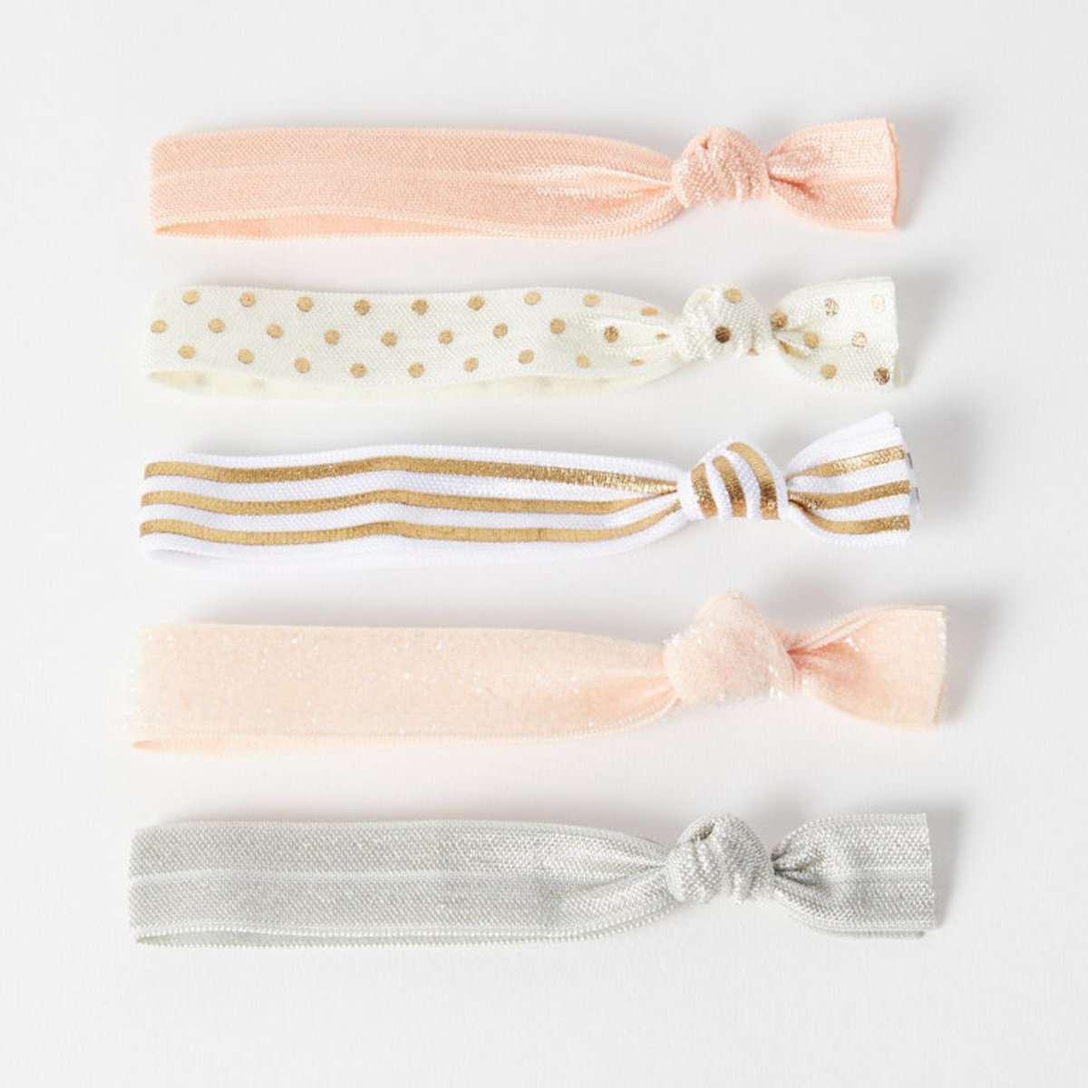Petal Peach Hair Ties