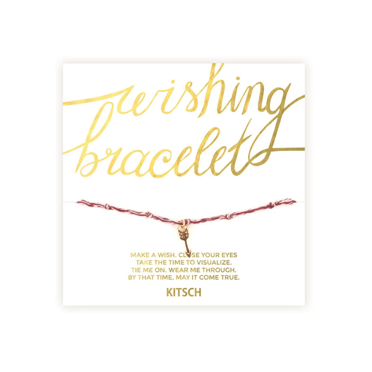 Wishing Bracelet - Be Unstoppable