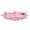 粉紅色閃石防水手繩三條組合