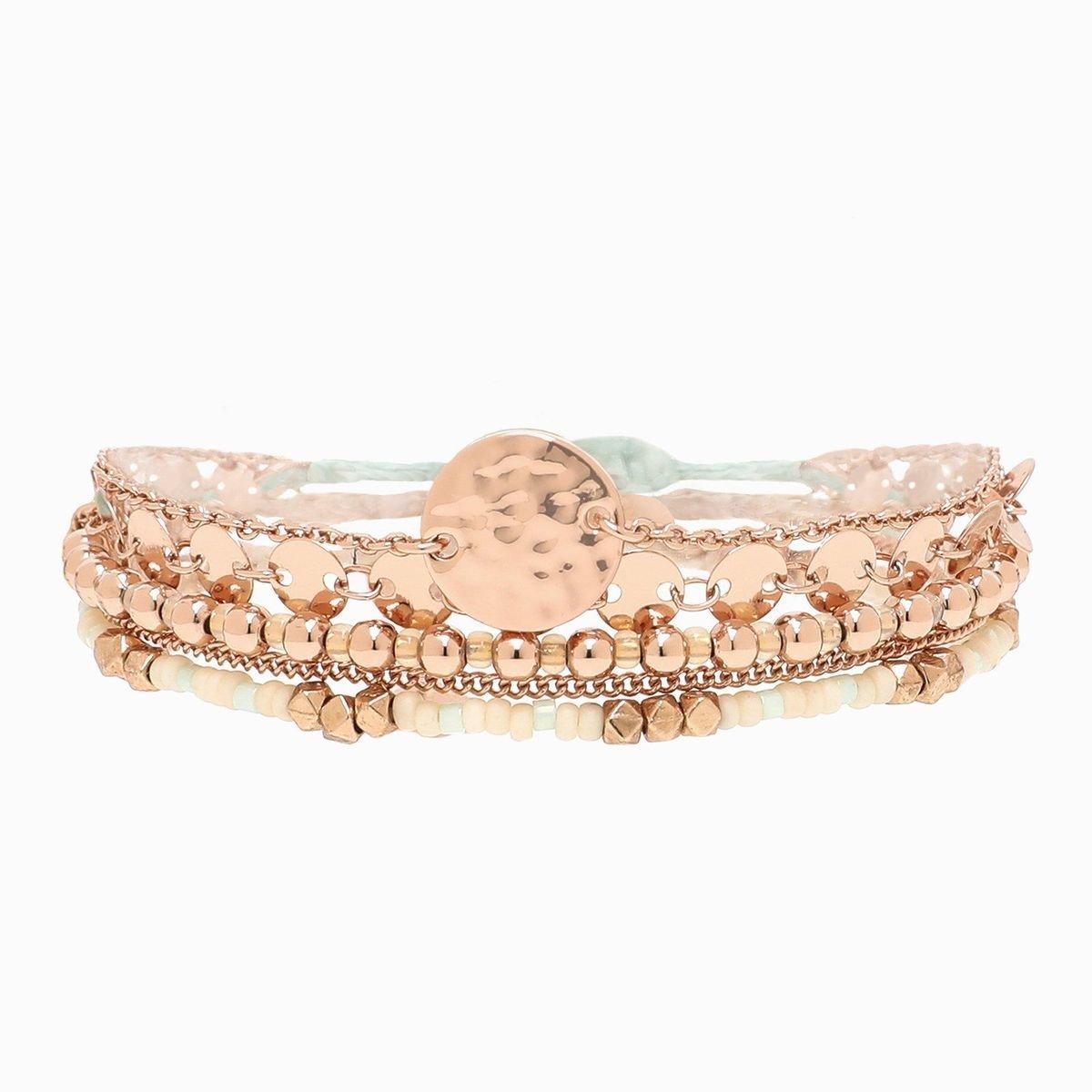 The Rose Gold Rush Bracelets Pack By Aspyn Ovard