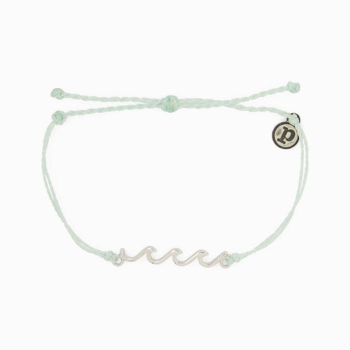 Silver Delicate Wave Bracelet・Winterfresh