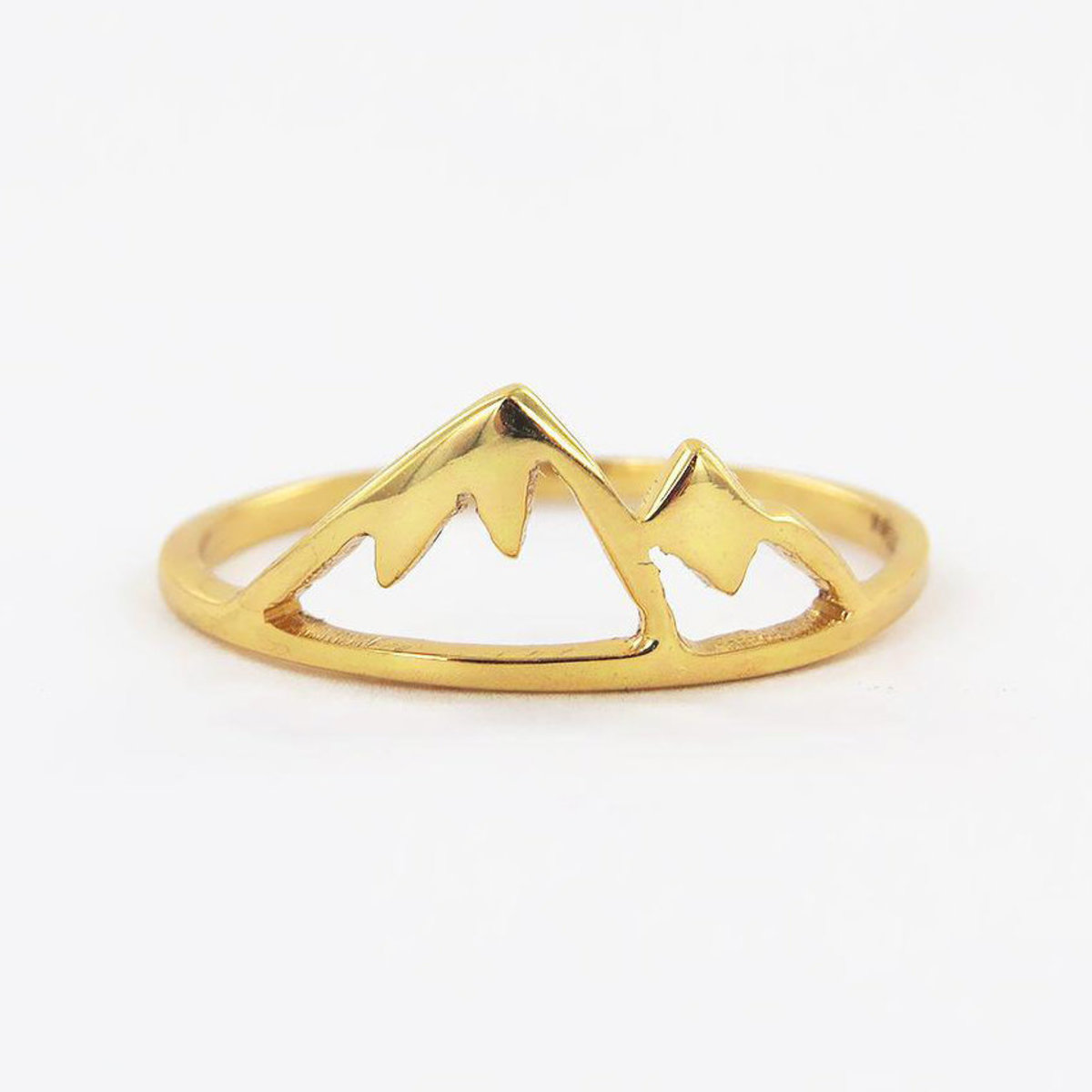 Aspen Mountain Design Ring (Size 5)
