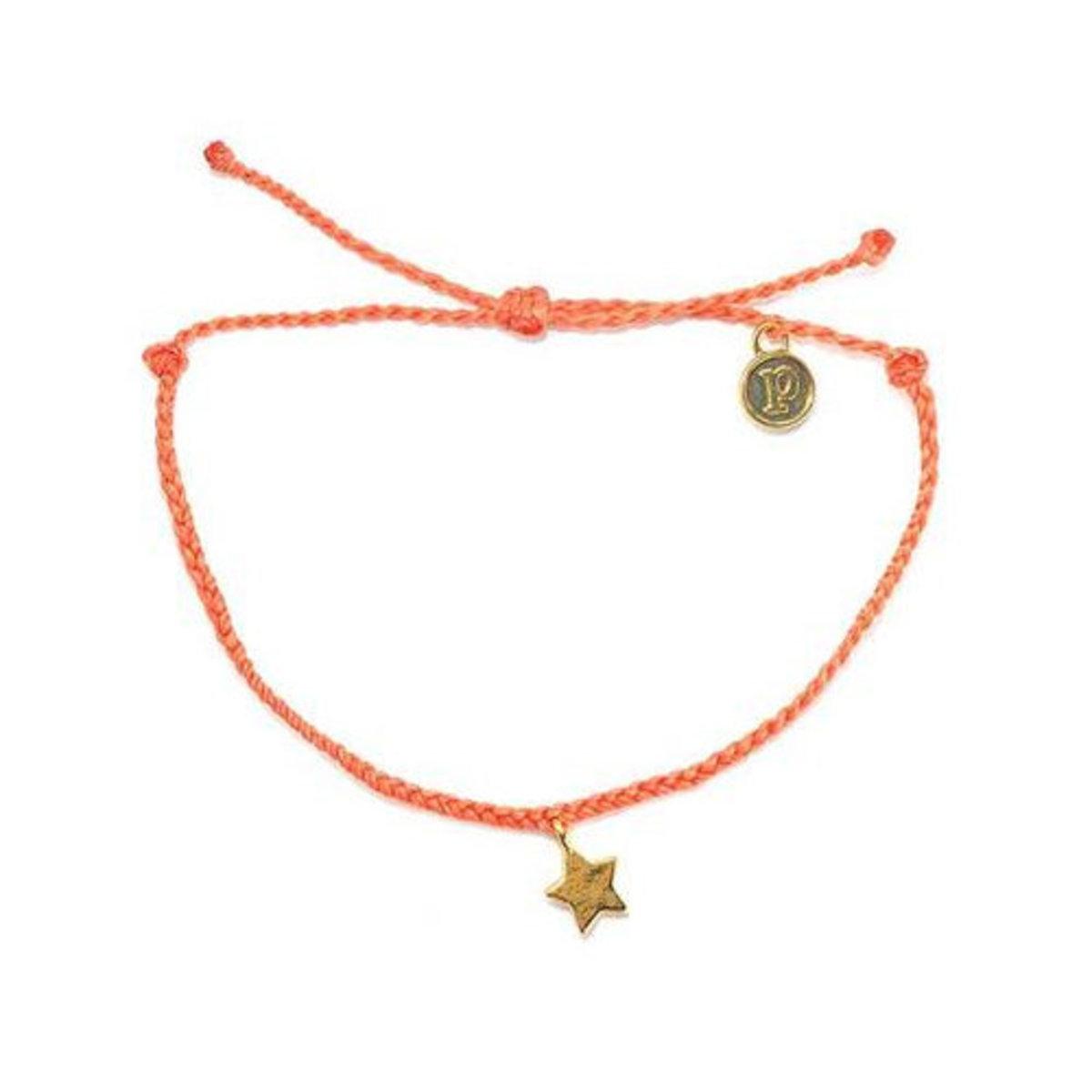 Star Bracelet・Gold Coral