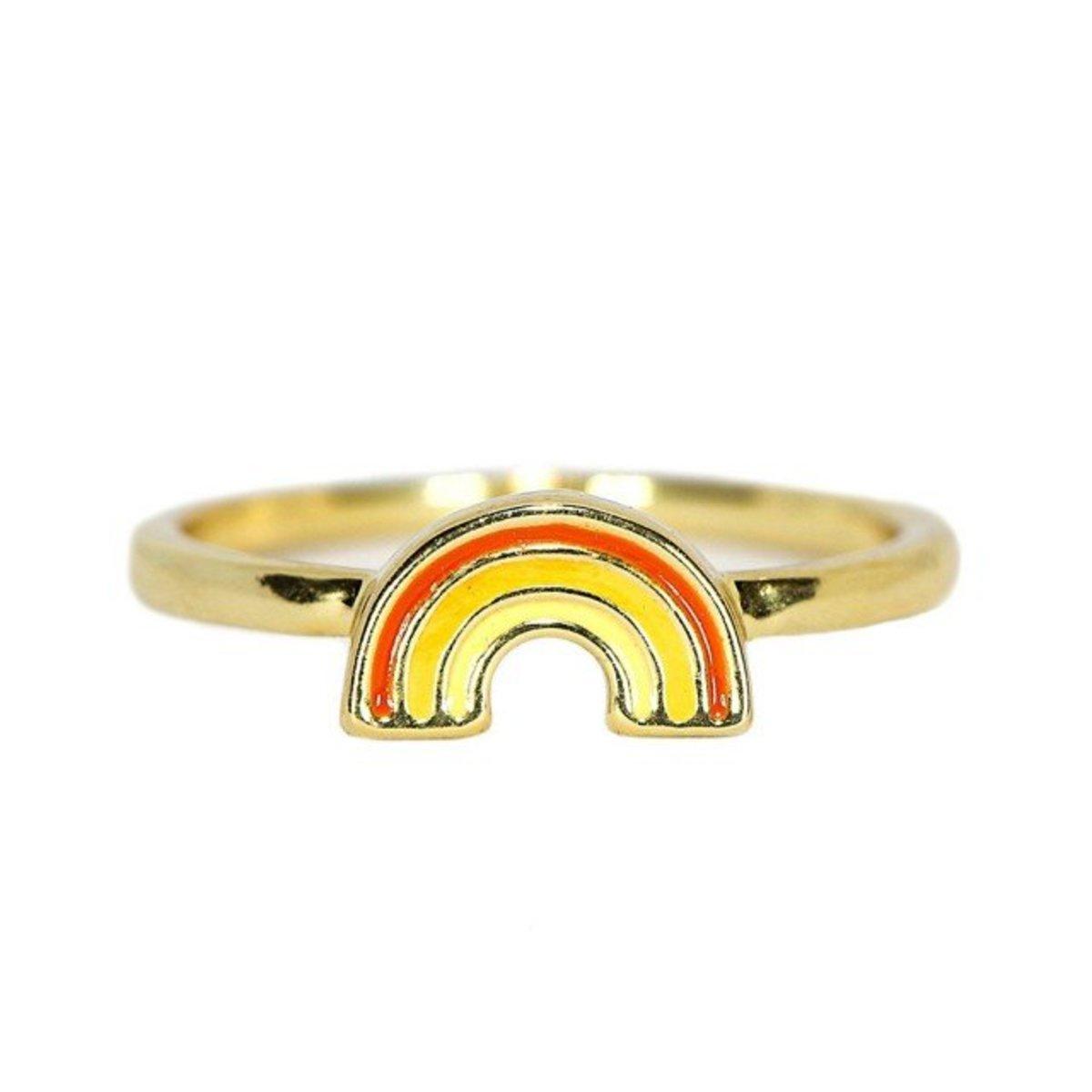 Gold Rainbow Ring(Size 5)