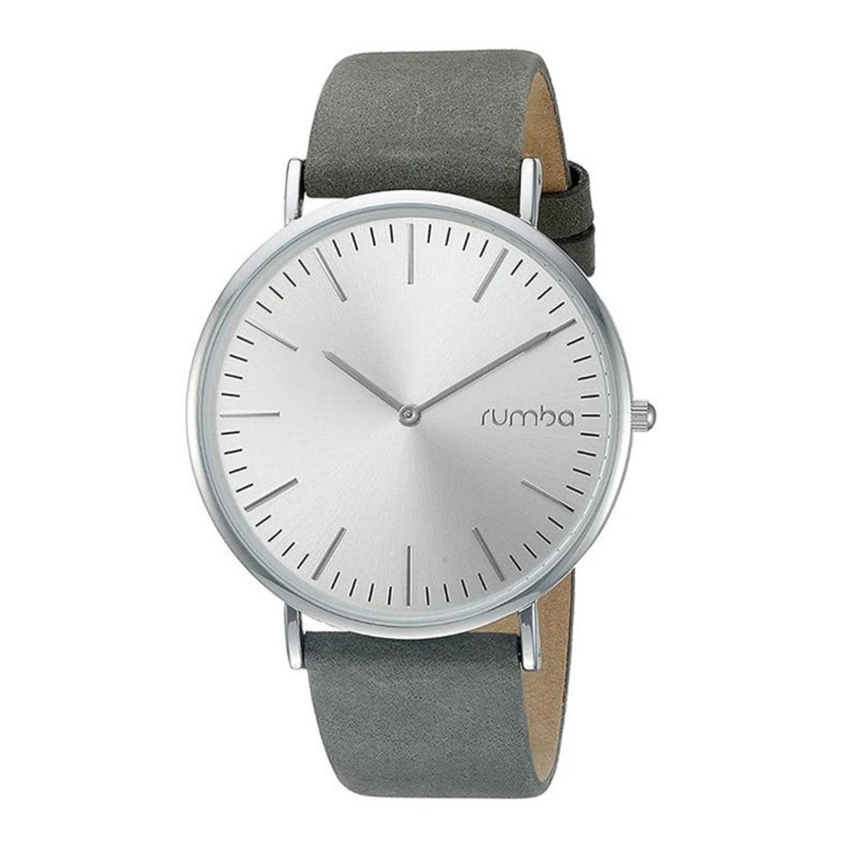 Soho Suede Watch (Pewter)