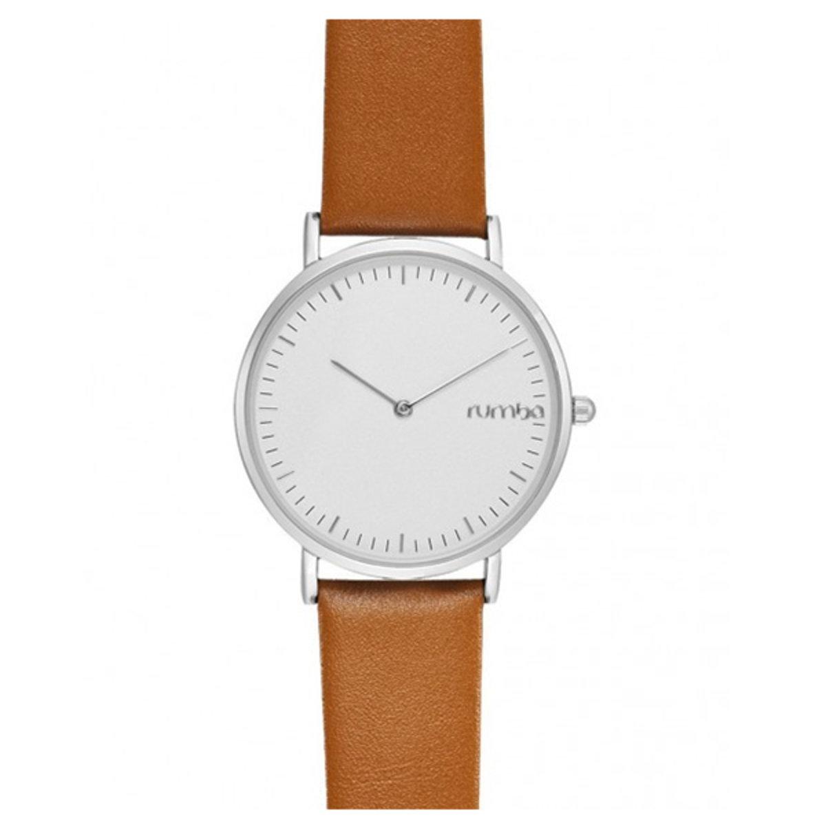 36mm Soho Leather Watch Hazelnut
