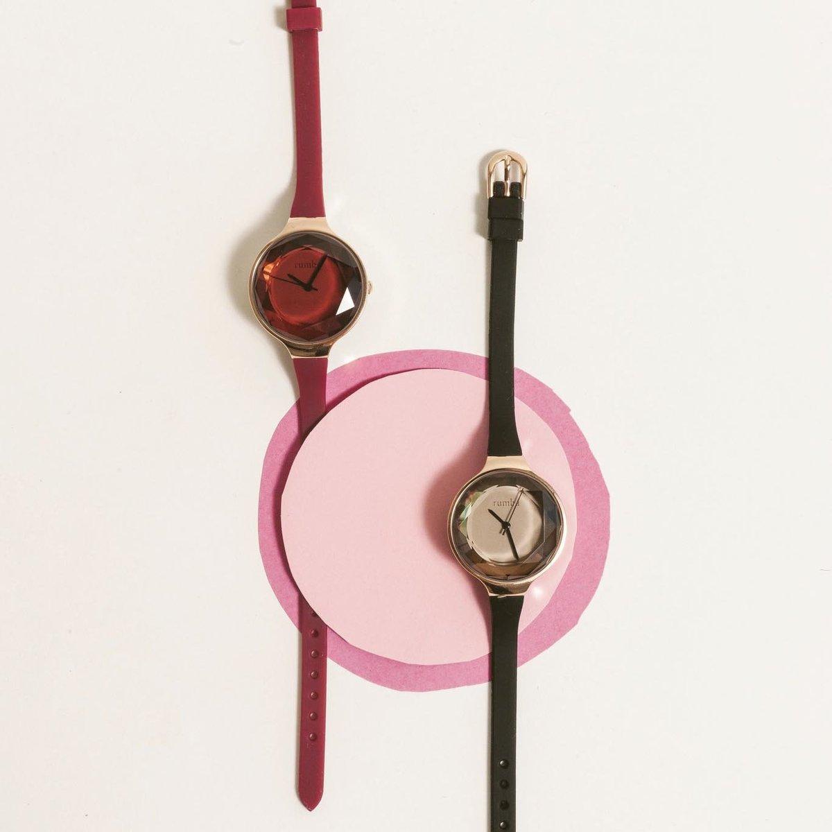Orchard Gem Silicone Watch - Merlot