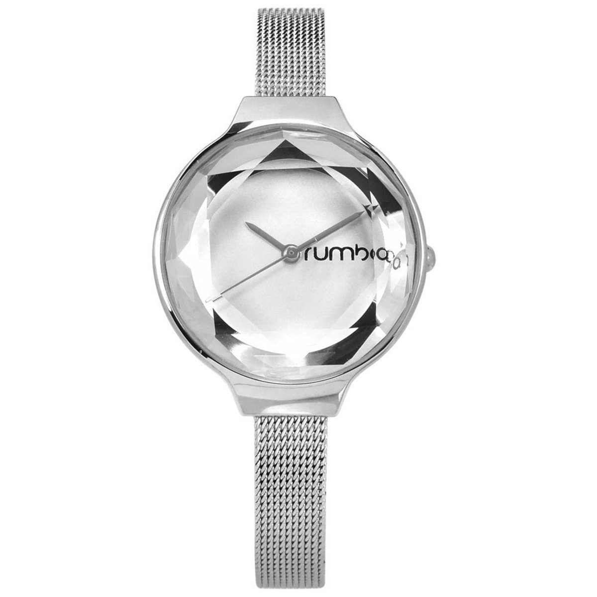 Orchard Gem Mesh Watch・Silver [Defect Item] A