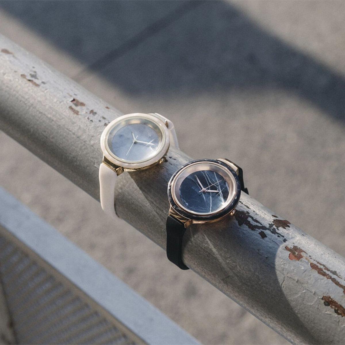 雲石手錶(白色)