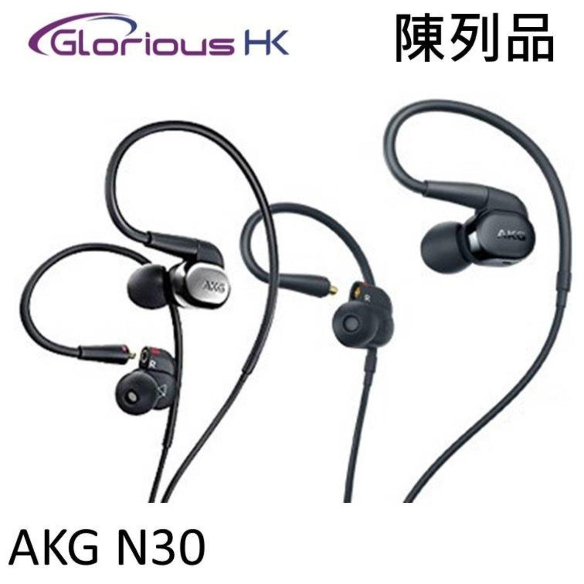 [Display Unit] N30 Hi-Res in-ear headphones Black