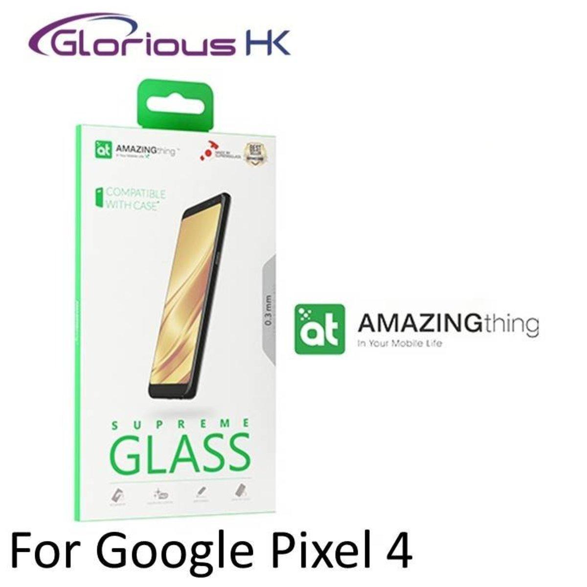 Google Pixel 4 SupremeGlass Full Cover Screen Protector