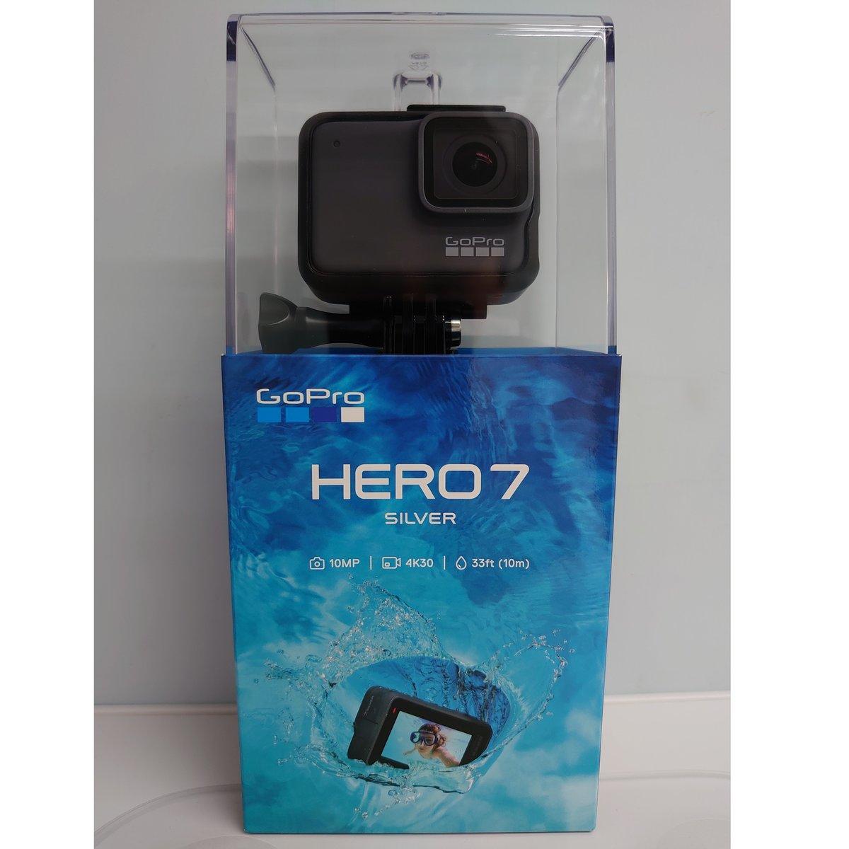 Hero7 Silver Waterproof Action Camera Parallel Import