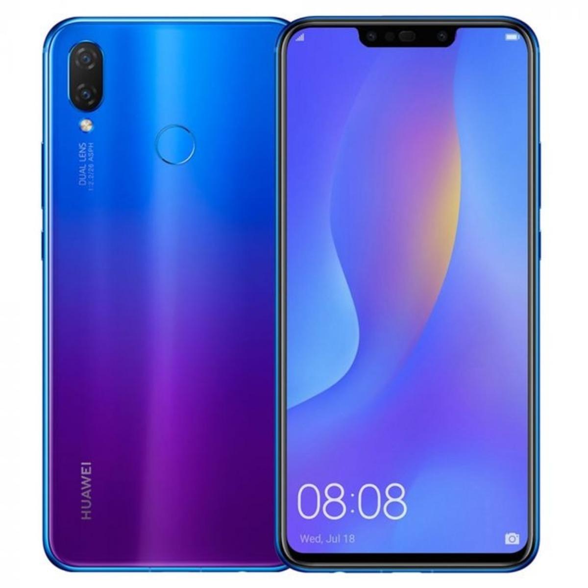 Nova 3i 4GB+128GB 藍楹紫色 香港行貨