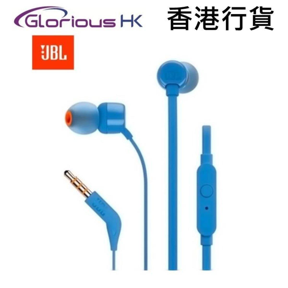 T110 In-ear headphones Blue