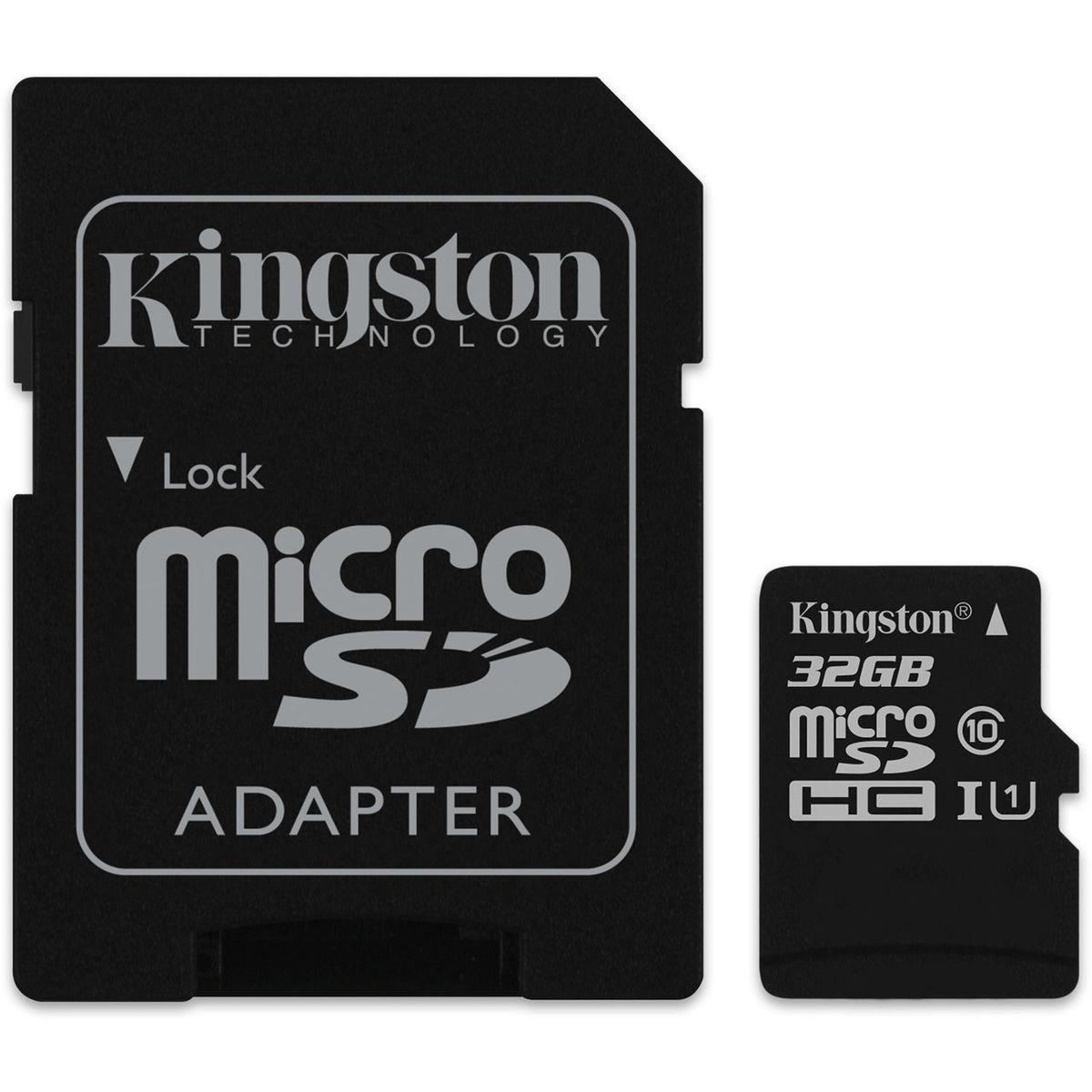32GB Class 10 MicroSDHC Card